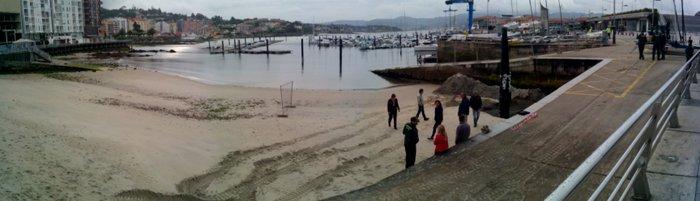 1-obras na praia dos barcos 9 xuño14