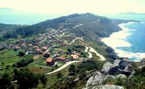 Maria Sanjiao-Cabo Home dende o monte do Facho